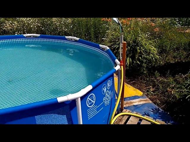 Первый опыт применения пергидроля в бассейне