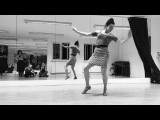 What happens when a swing dancer does The Twist