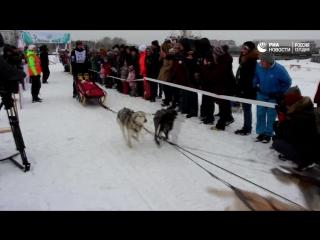 Гонка на собачьих упряжках Baikal Race 2017