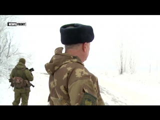 «Железный»_ Боевики батальона «Донбасс» в поселке Новолуганское выгоняют людей из домов