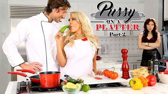 DigitalPlayground – Pussy On A Platter Part 2 – Aria Alexander & Luna Star
