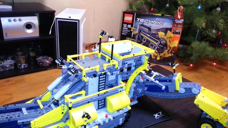 Лего 42055 модель В (сортировочный комбайн)