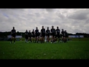 New Zealand performs the Haka at @RWLC17. 7 seed @NZBLAX is will face 2 seed @CanadaLacrosse in the quarterfinals