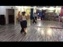 Танго-лаборатория 1.08.2016 - Связка Антона и Елены (Михаил Чудин - Эльвира Кашкарова, урок аргентинское танго)