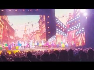 Москва, 19.05.2016, КЗ Россия, 25 лет Непоседы, концерт Взрослые и дети, песня Ekcely Mokcely