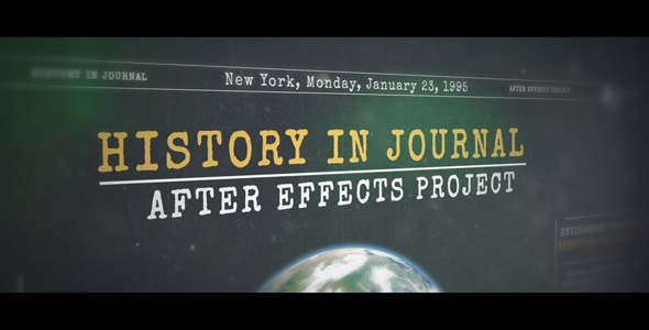 History in Journal - 1