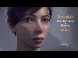 Blender Skin Texturing and Shading tutorial
