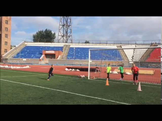 Тренировка Вратарей ДЮСШ ФК Сибирь (26.07.17)