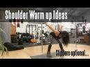 Shoulder Warm up ideas for Pole Dancers