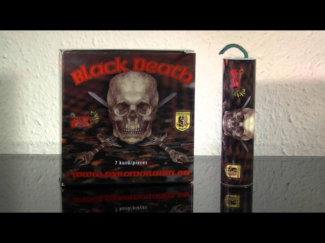 Black Death - Explosive Petardy Firework Achtung