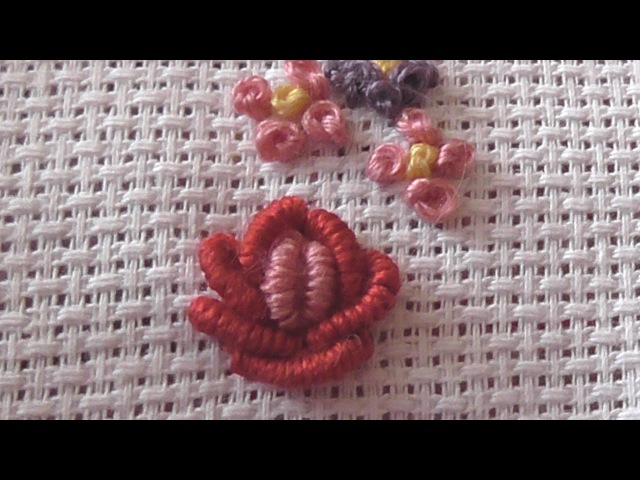 Make a Beautiful Rococo Rose Embroidery - DIY Crafts - Guidecentral
