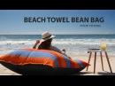 Sandusa Beach Towel Bean Bag