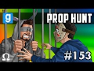 FRIED WATERMELON, JAILHOUSE LOVERS! | Prop Hunt 153 Funny Moments Ft. Vanoss, Delirious, Bryce