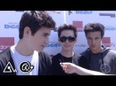 Alexis G Zall interviews Cameron Dallas, Carter Reynolds and Nash Grier @ Digifest | Astronauts@