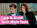 Cameron Dallas Nash Grier talk about getting mobbed by girls!