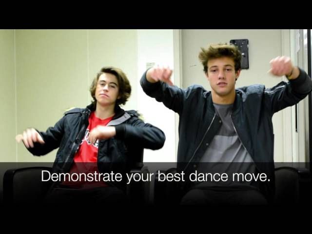Interview with Nash Grier and Cameron Dallas from