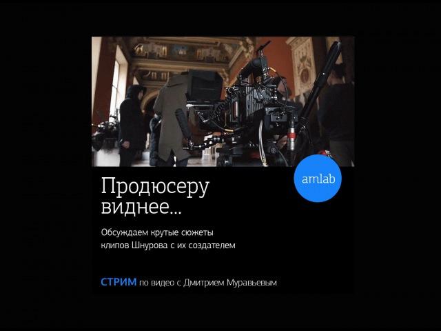Стрим с продюсером клипов группы Ленинград - Дмитрием Муравьевым (Fancy Shot) на Amlab.me