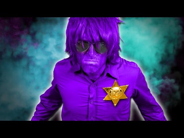 FNAF Purple Guy Real Life Hide N Seek!