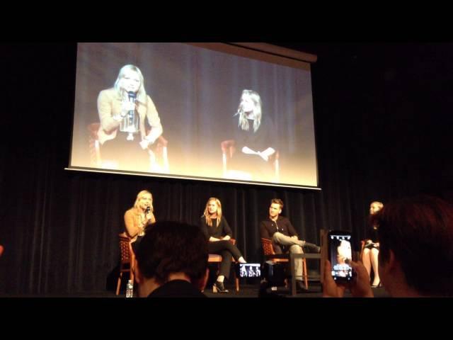 QA with Georgina Haig, Elizabeth Lail, Scott Micheal Foster at Fairy Tales 3 - part 1