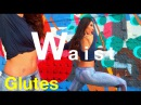 Shape Waist and Tone Glutes Workout   L.A.B Exercises