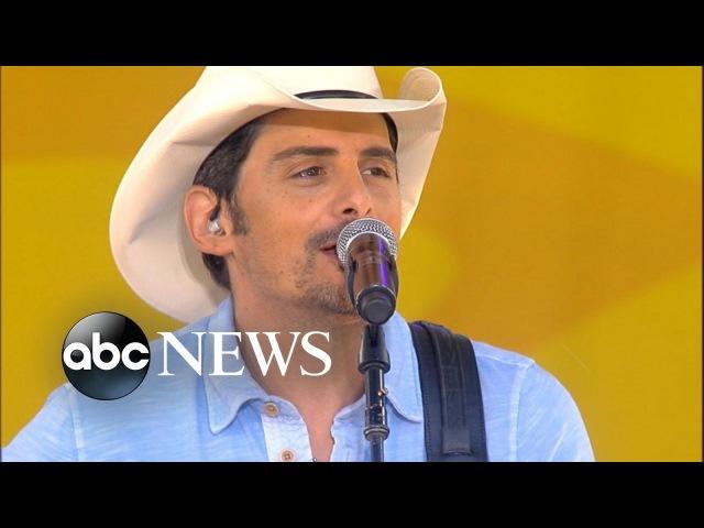 Brad Paisley - 'River Bank' LIVE on GMA