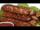 Как готовить люля-кебаб на мангале, чтобы фарш не отваливался