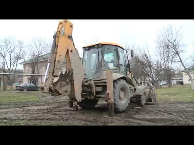 Новости • В Старопромысловском районе Грозного ведутся работы по замене водопроводных сетей