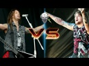 ScreamWar Danny Worsnop VS Matt Tuck