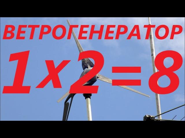 Ветрогенератор. Цена разочарования или дорогой флюгер. Автономные источники энергии.