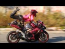 Dancing BIKERS on the road || Танцы байкеров