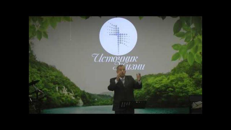 Необходимость Святости. Проповедь, Анатолий Ярмолюк 30.04.2017