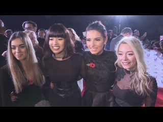 Pride of Britain: Four of Diamonds 'look up to Little Mix'