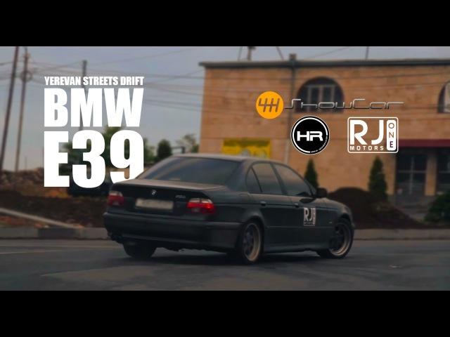 BMW E39 Yerevan Streets Drift