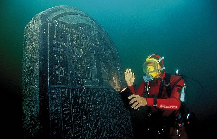 Египетские артефакты Гераклиона и Канопуса