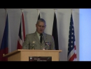 Colloque Robotisation du champ de Bataille par le général Michel Yakovleff