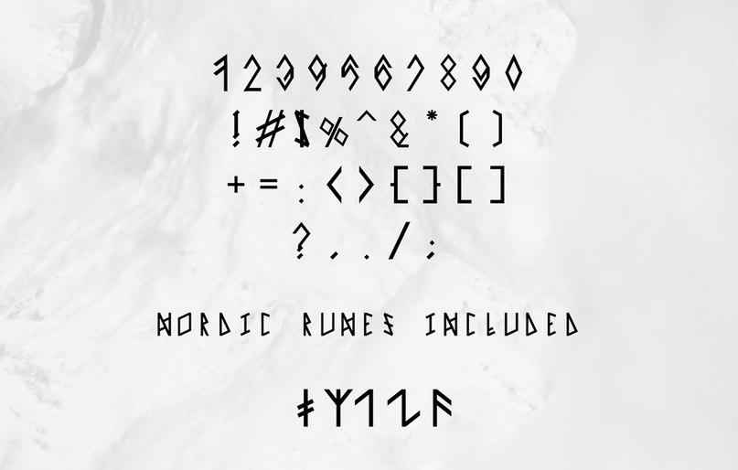 Norsk шрифт скачать бесплатно
