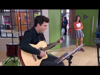 """Violetta׃ Momento Musical׃ Diego en la guitarra interpreta """"Ser quien soy"""""""