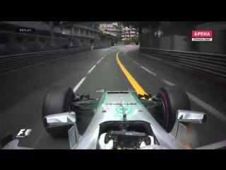 F1 2016. 06 Гран-при Монако. Гонка
