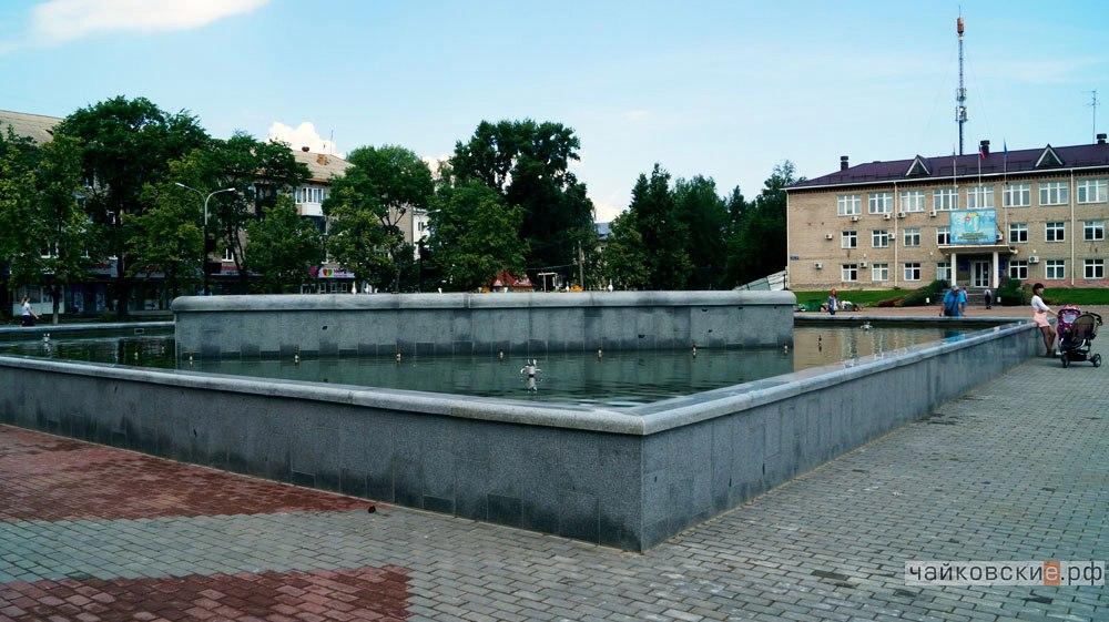 фонтан, Чайковский, 2017 год