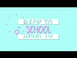 Футаж для Back to school