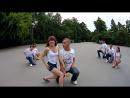"Bachata show. Students of social dance club ""S'ТАНЦИЯ"""