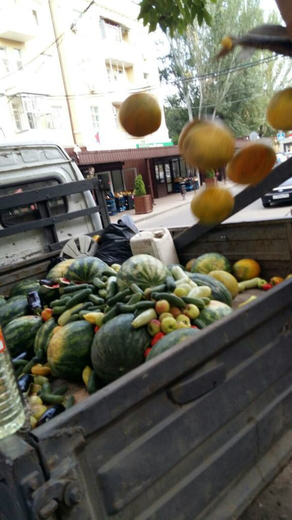 В Ростове уничтожили 730 кг овощей и фруктов сомнительного качества