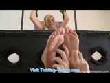 Tickling-Videos.com - Tickling-Submission - Ticklish feet in socks Barbara Nova