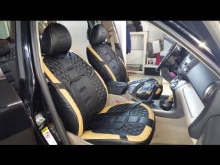 Тойота Раф 4 10г. #Toyota#RAV4#авточехлы#Тойота#Раф4