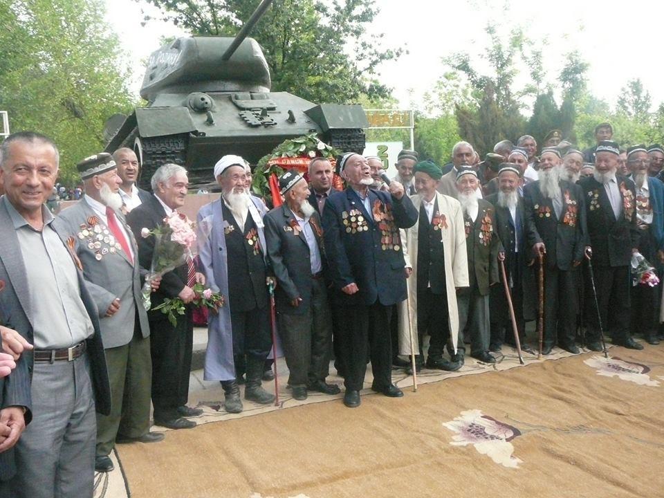 В Турсунзаде в 100-летнем возрасте ушел из жизни участник Великой Отечественной войны