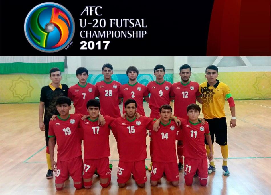 Молодые таджикские футзалисты примут участие в первом Чемпионате Азии