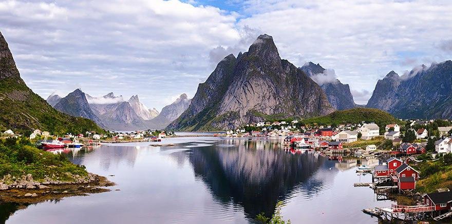 Норвегия и Дания - замки, фьорды, скалы! 12 дней от 879 у.е.