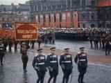 Парад победы 1945 г. в Москве (цветной)