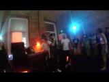 Raul &amp Papalam MC @ live freestyle at bday Bash!