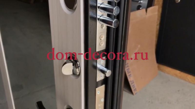 Дверь входная МД 38 Зеркало